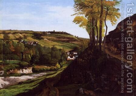 Valley of Ornans by Gustave Courbet - Reproduction Oil Painting