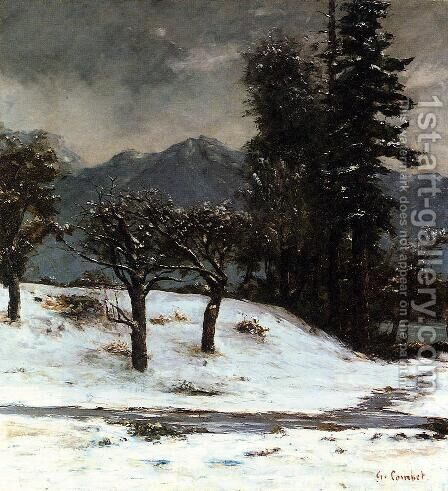 Snow by Gustave Courbet - Reproduction Oil Painting