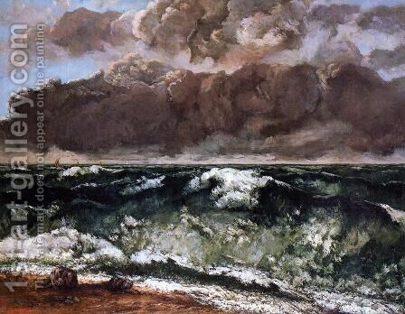 The Wave II by Gustave Courbet - Reproduction Oil Painting