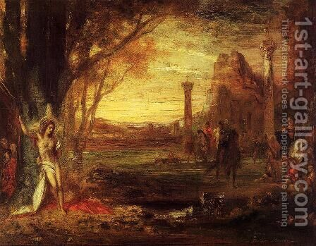 Saint Sebastian and His Executioners by Gustave Moreau - Reproduction Oil Painting