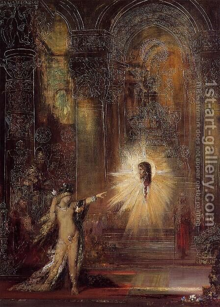The Apparition II by Gustave Moreau - Reproduction Oil Painting