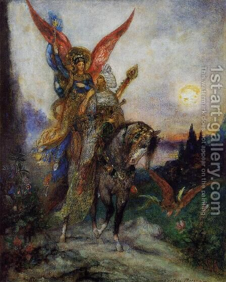 Arabian Poet by Gustave Moreau - Reproduction Oil Painting