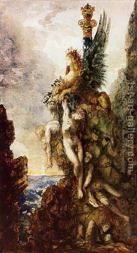 The Sphinx by Gustave Moreau - Reproduction Oil Painting