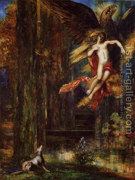 Ganymede by Gustave Moreau - Reproduction Oil Painting