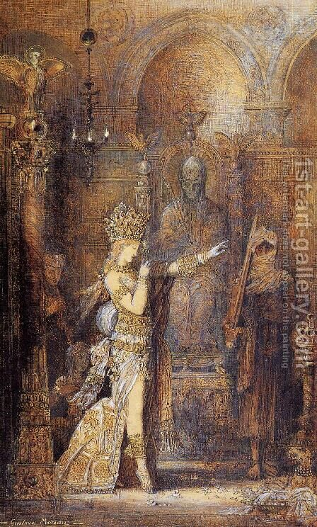 Salome Dancing by Gustave Moreau - Reproduction Oil Painting