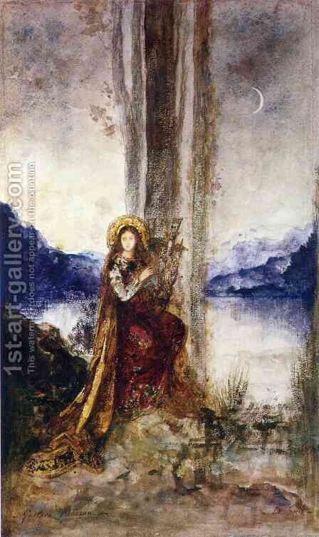 The Evening by Gustave Moreau - Reproduction Oil Painting