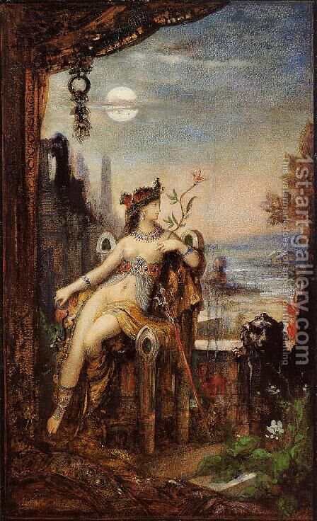 Cleopatra by Gustave Moreau - Reproduction Oil Painting