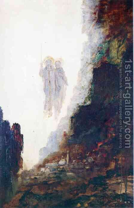 The Angels of Sodom by Gustave Moreau - Reproduction Oil Painting