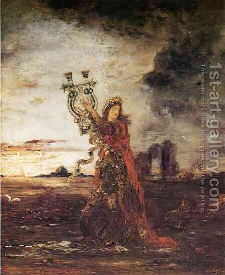 Arion by Gustave Moreau - Reproduction Oil Painting