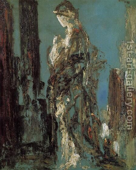 Study of Helen by Gustave Moreau - Reproduction Oil Painting