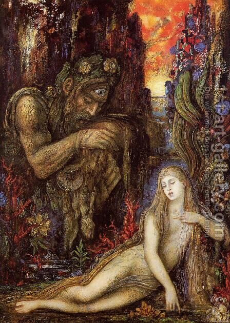 Galatea by Gustave Moreau - Reproduction Oil Painting