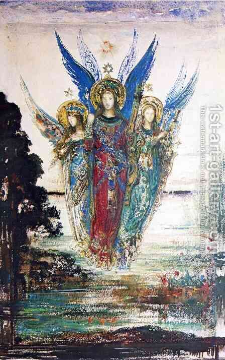 Voices of Evening by Gustave Moreau - Reproduction Oil Painting
