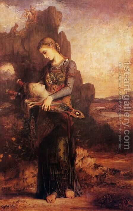 Orpheus I by Gustave Moreau - Reproduction Oil Painting