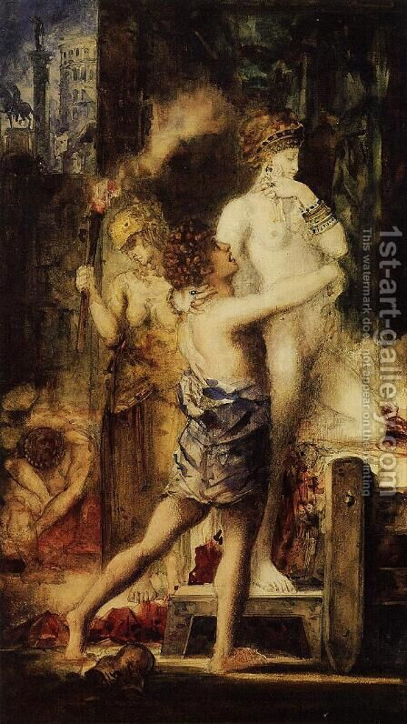 Messalina I by Gustave Moreau - Reproduction Oil Painting