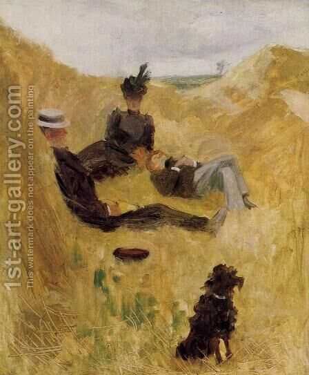 Party in the Country by Toulouse-Lautrec - Reproduction Oil Painting
