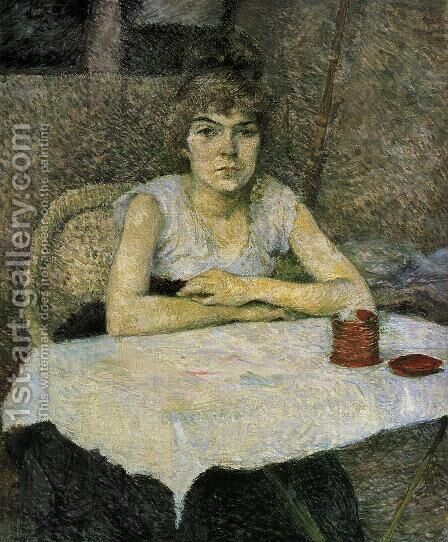 Rice Powder by Toulouse-Lautrec - Reproduction Oil Painting