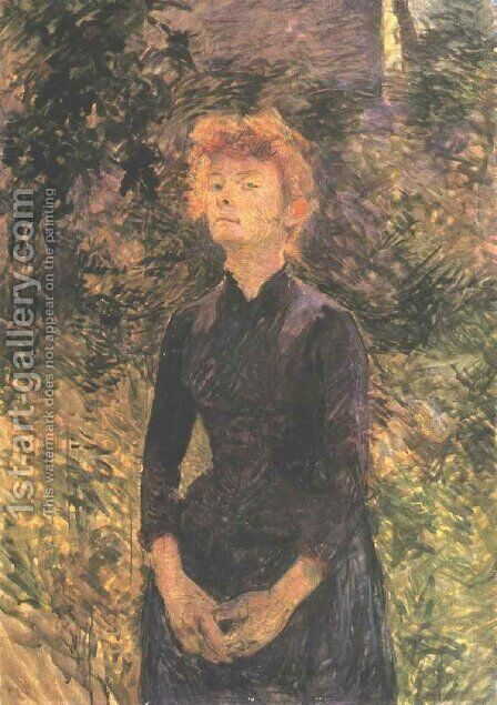 In Batignolles... by Toulouse-Lautrec - Reproduction Oil Painting