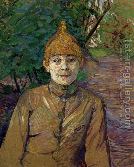 The Streetwalker by Toulouse-Lautrec - Reproduction Oil Painting