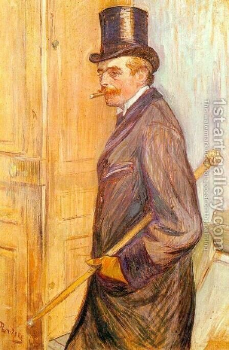 Louis Pascal by Toulouse-Lautrec - Reproduction Oil Painting