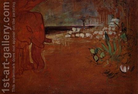 Indian Decor by Toulouse-Lautrec - Reproduction Oil Painting
