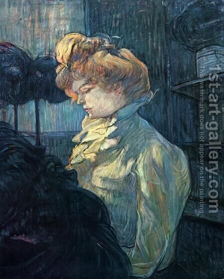 The Milliner by Toulouse-Lautrec - Reproduction Oil Painting