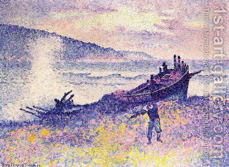 The Wreck by Henri Edmond Cross - Reproduction Oil Painting