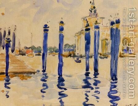 La Donana, Venice by Henri Edmond Cross - Reproduction Oil Painting