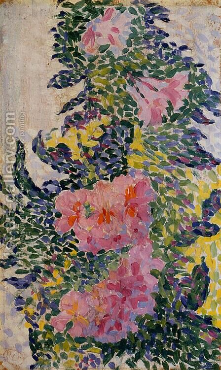 Flowers by Henri Edmond Cross - Reproduction Oil Painting