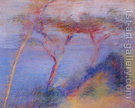 Landscape III by Henri Edmond Cross - Reproduction Oil Painting