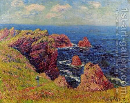 The Breton Coast I by Henri Moret - Reproduction Oil Painting