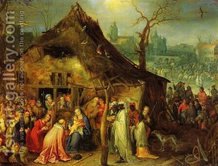 The Adoration of the Magi by Jan The Elder Brueghel - Reproduction Oil Painting