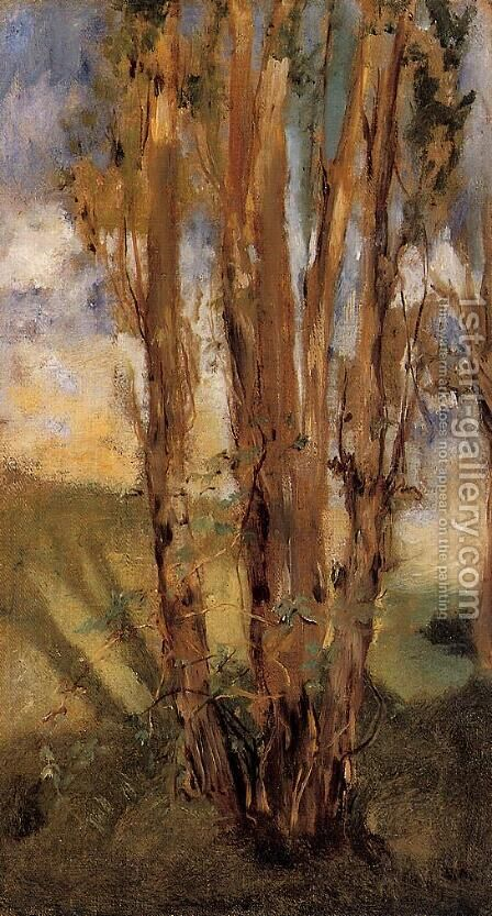 Study of Trees by Edouard Manet - Reproduction Oil Painting