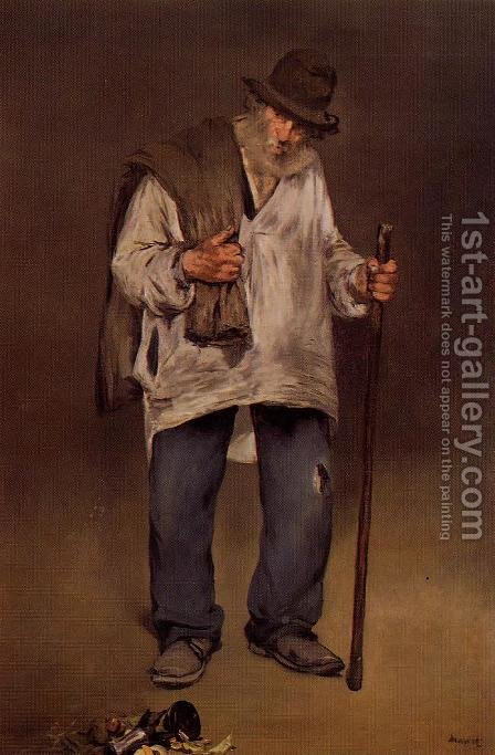 The Ragpicker by Edouard Manet - Reproduction Oil Painting