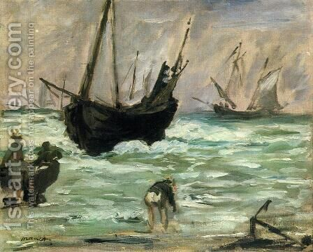 Seascape I by Edouard Manet - Reproduction Oil Painting