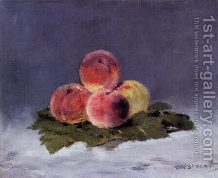 Peaches by Edouard Manet - Reproduction Oil Painting