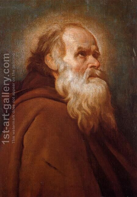 St. Anthony Abbot by Velazquez - Reproduction Oil Painting