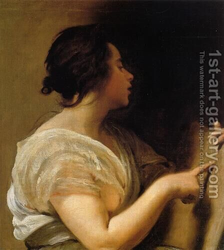 Archne (A Sybil) by Velazquez - Reproduction Oil Painting