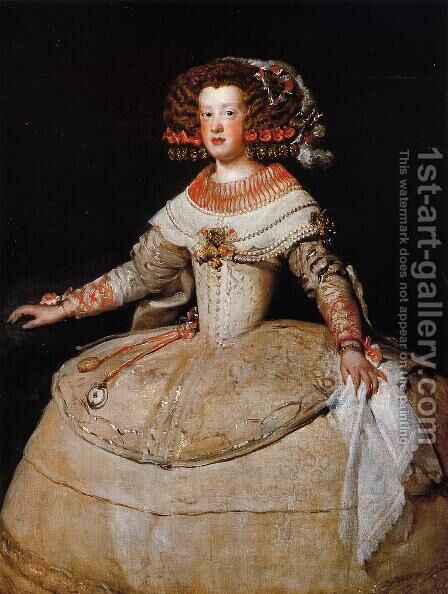 Infanta Maria Teresa II by Velazquez - Reproduction Oil Painting