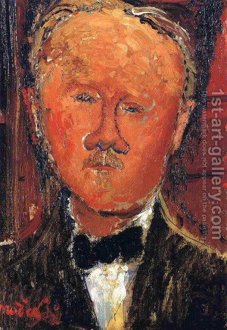 Cheron by Amedeo Modigliani - Reproduction Oil Painting