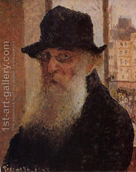 Self Portrait I by Camille Pissarro - Reproduction Oil Painting