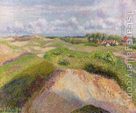 The Dunes at Knocke, Belgium by Camille Pissarro - Reproduction Oil Painting