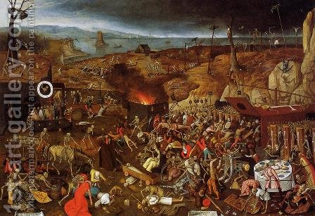 The Triumph of Death by Pieter the Elder Bruegel - Reproduction Oil Painting