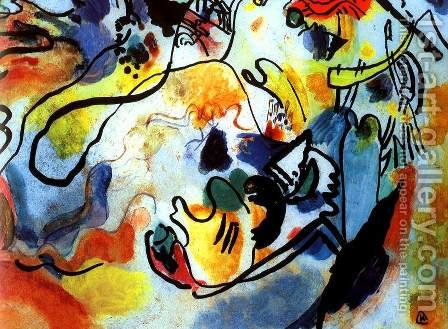Last Judgement by Wassily Kandinsky - Reproduction Oil Painting