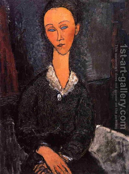 Lunia Czechowska by Amedeo Modigliani - Reproduction Oil Painting