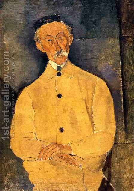 Constant Leopold by Amedeo Modigliani - Reproduction Oil Painting