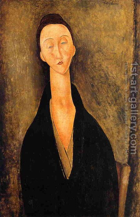 Lunia Czechowska I by Amedeo Modigliani - Reproduction Oil Painting