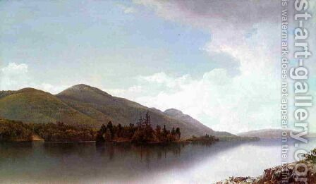 Buck Mountain, Lake George by David Johnson - Reproduction Oil Painting
