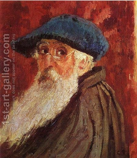 Self Portrait I by Claude Oscar Monet - Reproduction Oil Painting