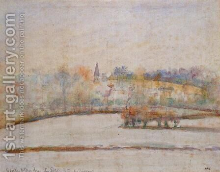 Hoarfrost by Camille Pissarro - Reproduction Oil Painting