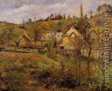 La Valhermeil, near Pontoise by Camille Pissarro - Reproduction Oil Painting